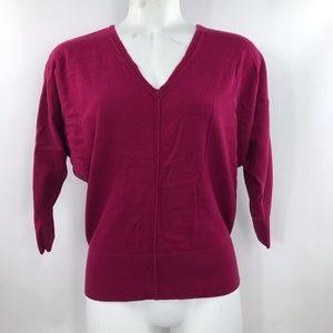 Women's Ann Taylor Size S V-Neck Top